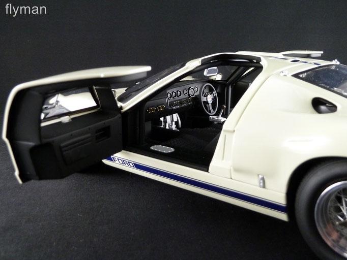 GMP 1201313 - 1:12 - Ford GT40 MK I in weiß