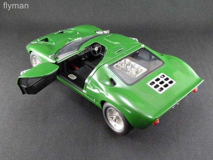 GMP 1201310 - 1:12 - Ford GT40 MK I in grün