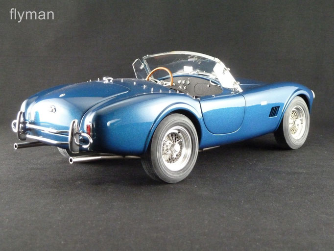 GMP 1202602 - 1:12 - Shelby Cobra 289 in blau