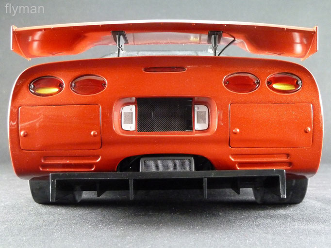 GMP 1200709 - 1:12 - Chevrolet Corvette C5-R in orangerot metallic