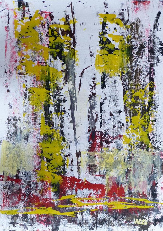 1230 - 48 x 67 cm  Acrylfarbe, Papier   35.00 €