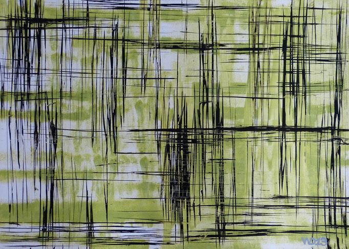 1222 - 48 x 67 cm  Acrylfarbe, Papier   33.00 €