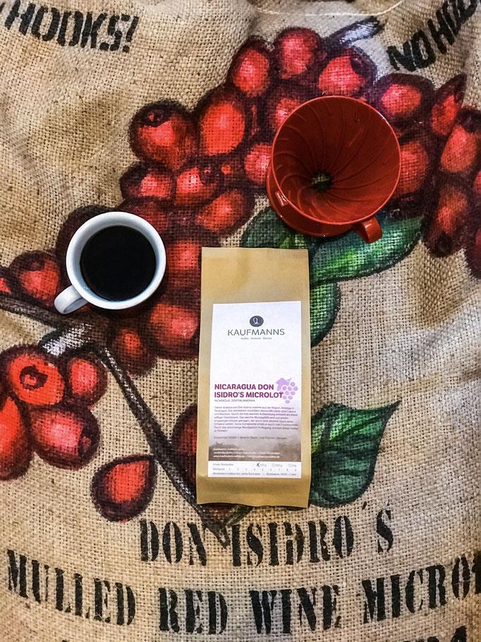 KAUFMANNS Kaffee Nicaragua Don Isidro