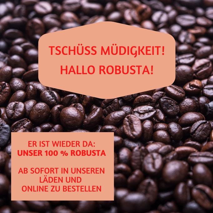 KAUFMANNS Espresso India Robusta ist wieder im Sortiment