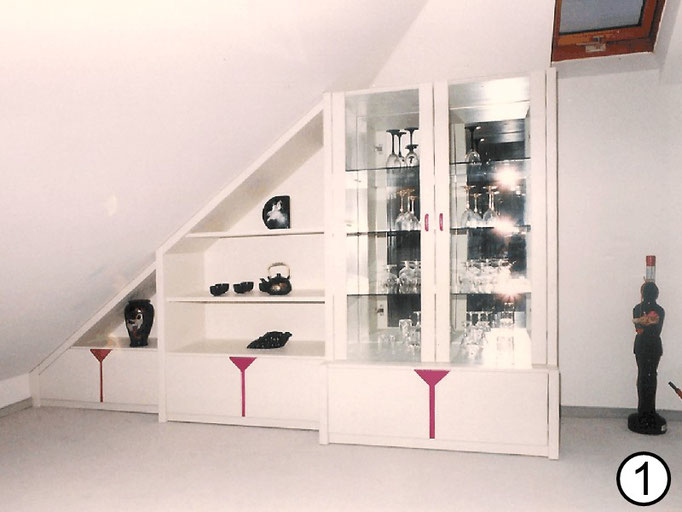Individuell gefertigte Wohnzimmermöbel von Ihrem Schreiner Karlheinz Berschneider