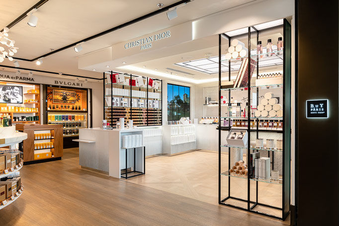 photographe boutique Dior Parfums Paris