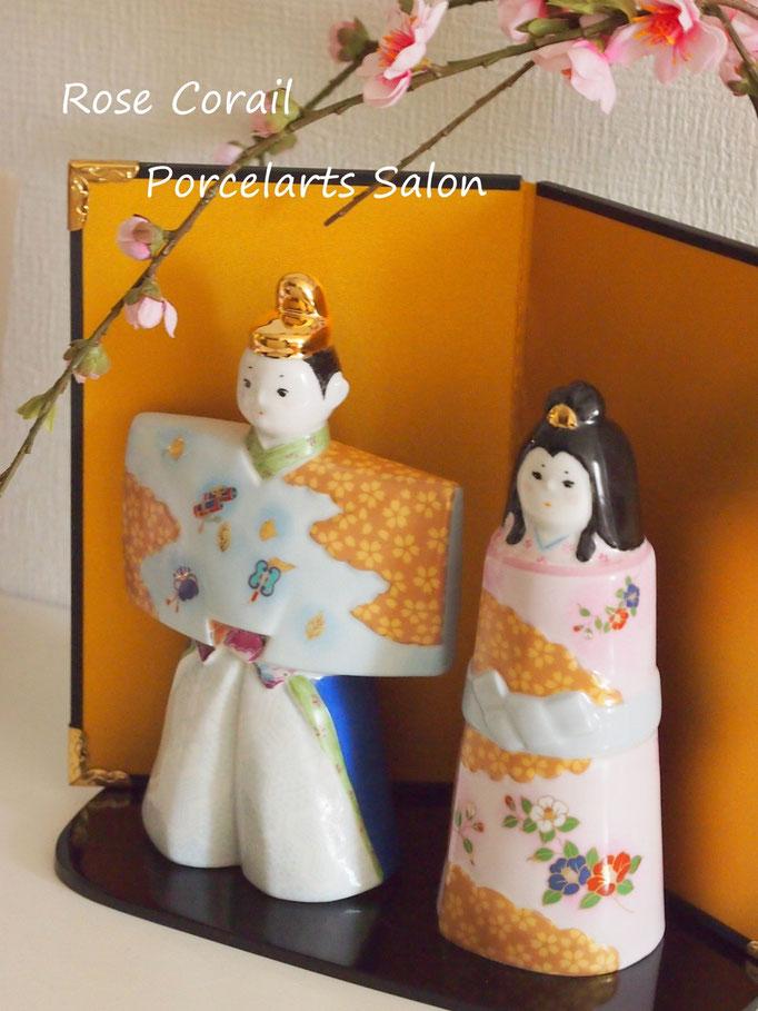 ポーセラーツ:雛人形