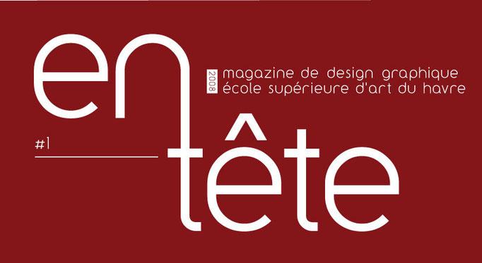 Logo Magazine de Design graphique Ecole Supérieure d'Art du Havre