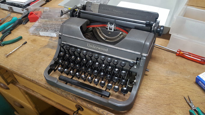 Schreibmschine Underwood