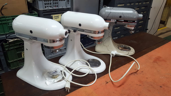 Diverse Kitchenaid Maschinen repariert