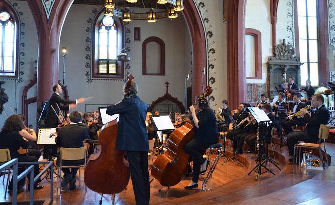Neues Orchester Basel Dirigent Christian Knüsel