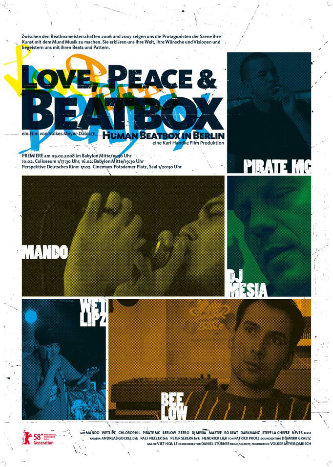 """LOVE PEACE AND BEATBOX"""