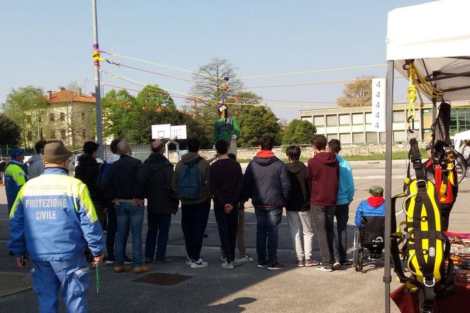 ANA San Giorgio - Alla scoperta della Protezione Civile