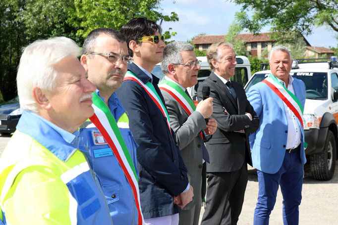 ANA San Giorgio - Le autorità presenti