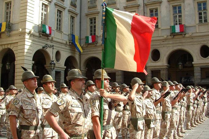 Alpini - Bandiera di guerra