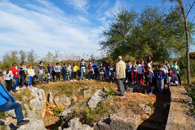 ANA San Giorgio - Sul Carso con le scuole