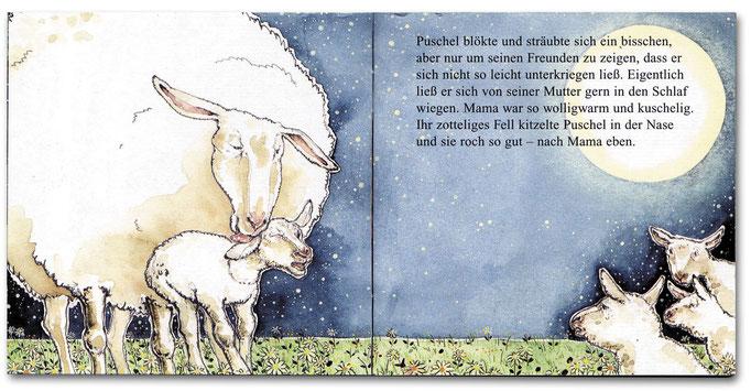 """Pixi-Buch """"Schlaf schön, kleines Schaf"""" Katja Reider © Caroline Ronnefeldt"""