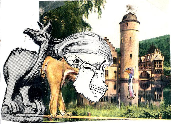 Geert en de vreemde eend in de bijt