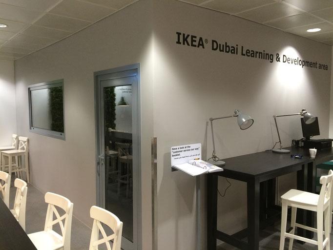 New gypsum office - Ikea Dubai