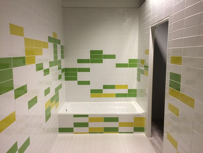Quirky children bathroom