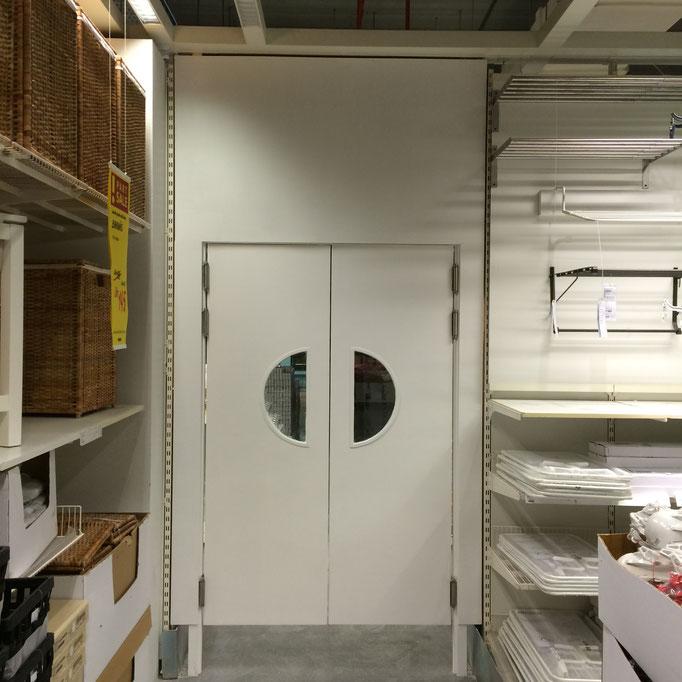 Swing doors - Ikea Yas Island