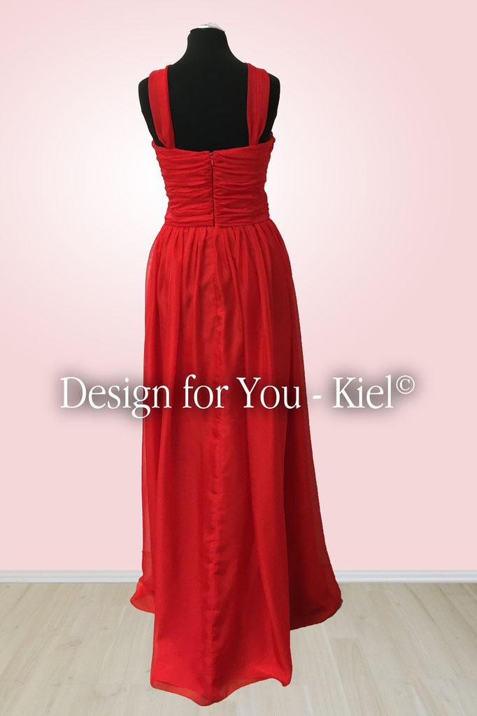 Abendkleid Maren hinten - © Design for You - Kiel