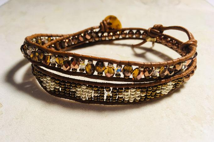 bracelet wrap BR:029 / 10€