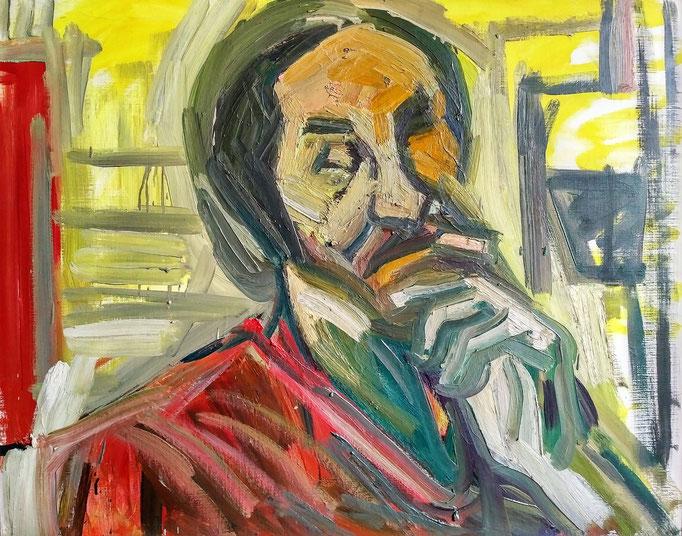 André, 100x81, 1979, huile sur toile
