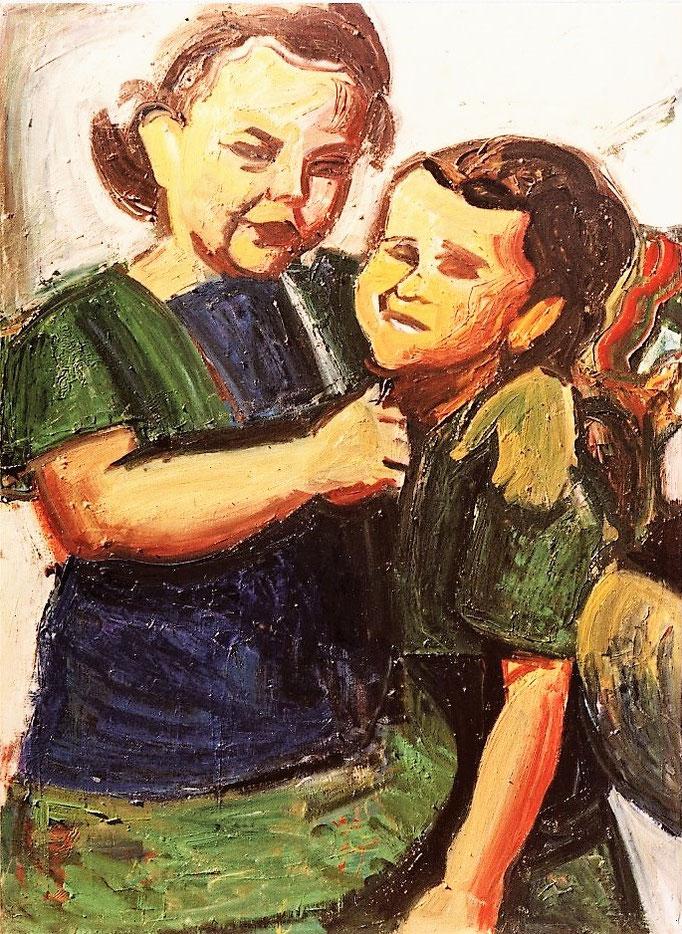 Huile sur toile, [1977]