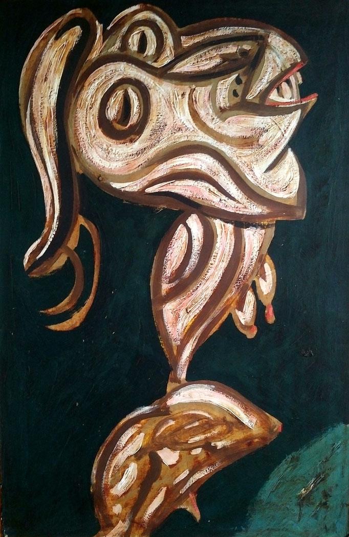 Frantasmagorie, encre, 50x33 [1970], collection d'atelier