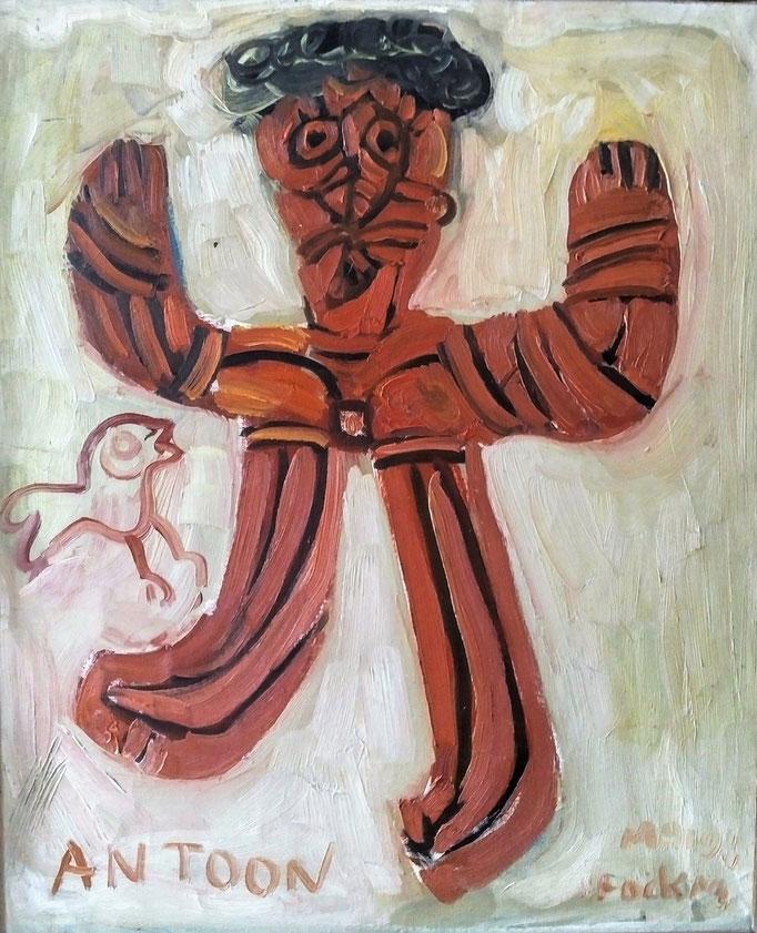 Antoon, huile sur toile, [ 1970], collection d'atelier