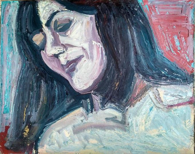 Huile sur toile, [1980]