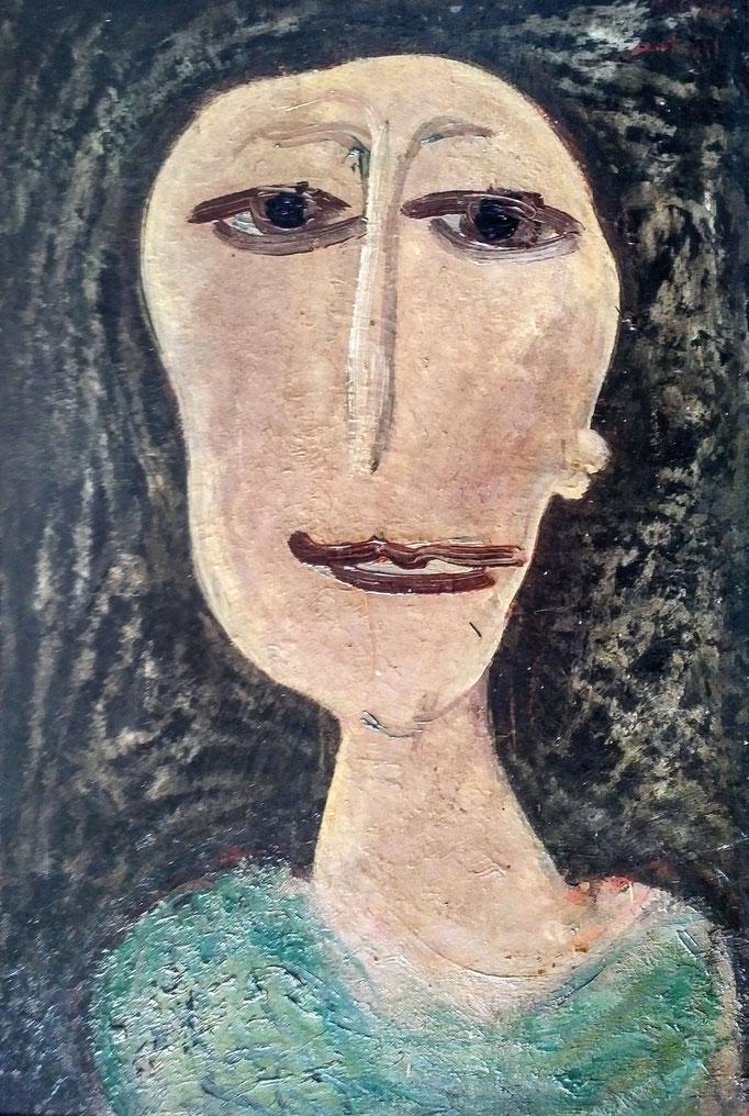 Artemise, huile sur toile, [1970], collection d'atelier