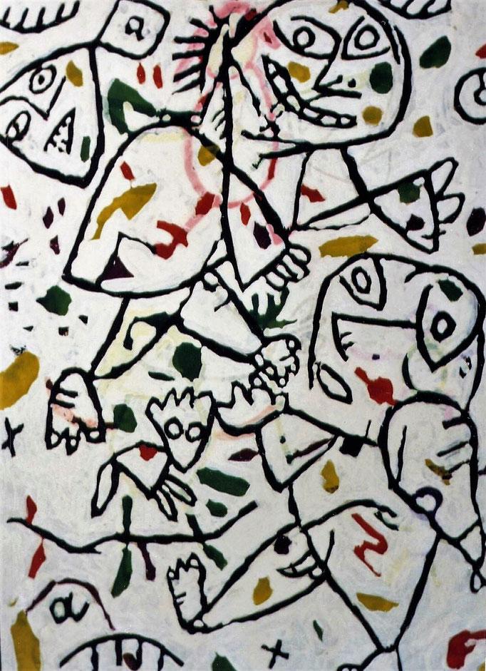 Sans titre, gouache, 3 [1970], collection d'atelier