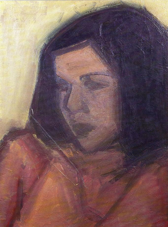 Ketty, [1977 ] huile sur toile, collection particulière, Paris