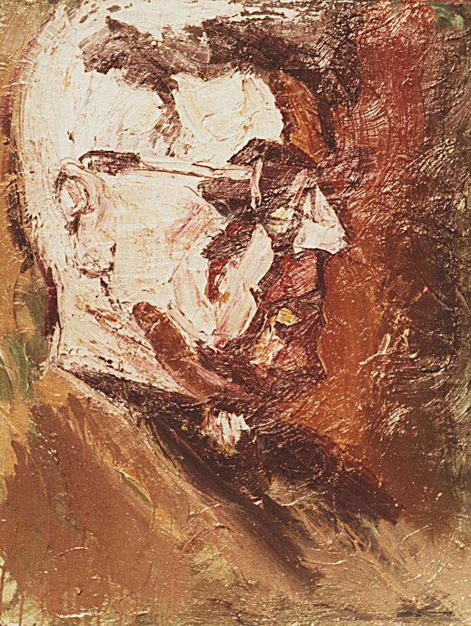 Van Parys, [1977], huile sur toile , collection particulière, Belgique