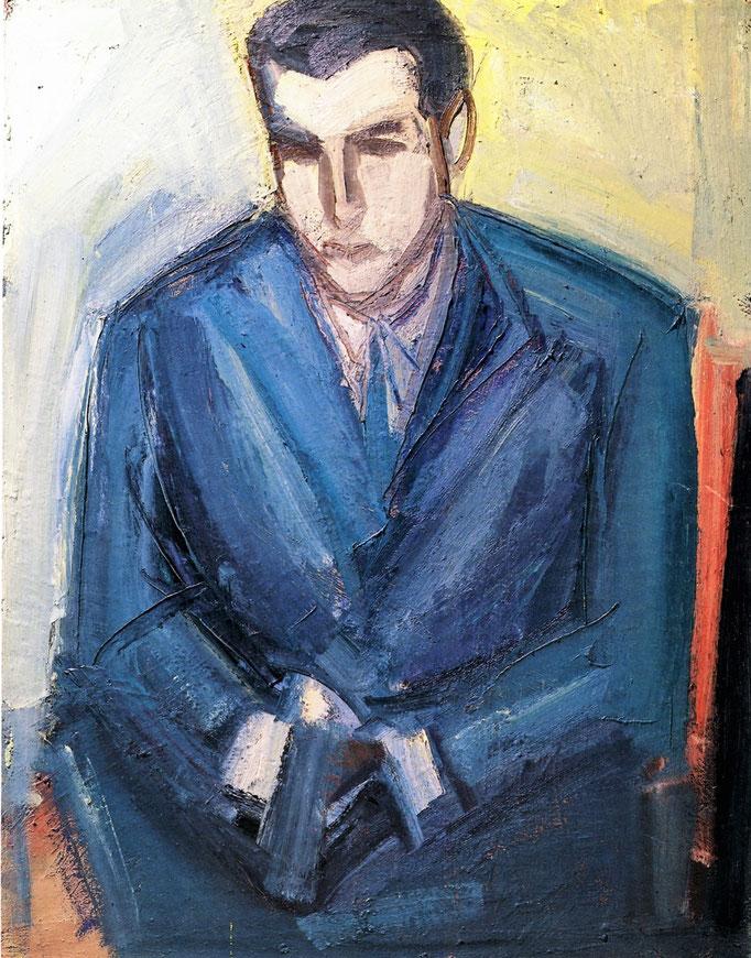Le nevrosé, 116x89, 1977, huile sur toile