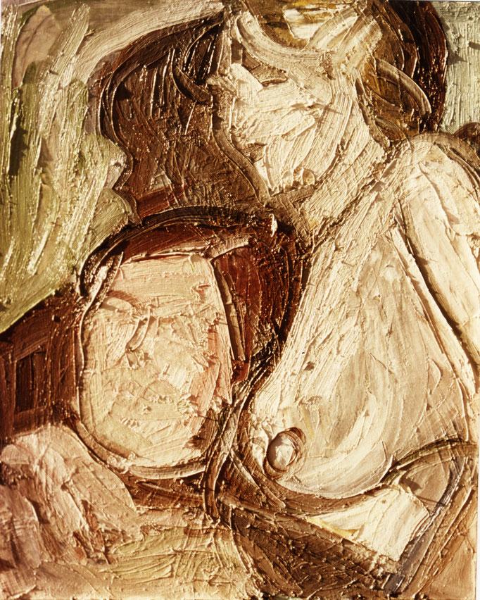 Composition, [1977], huile sur toile , collection particulière