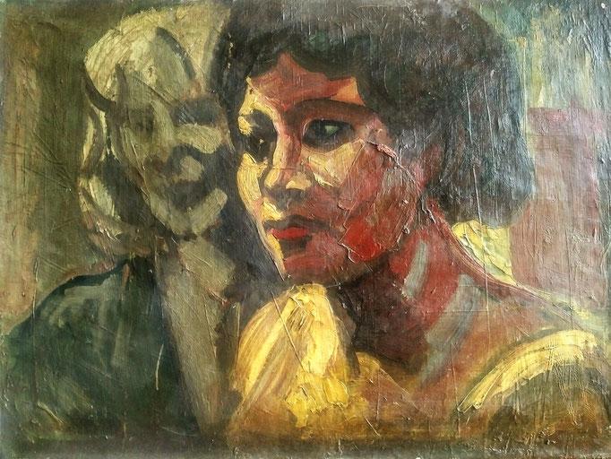 Huile sur toile, [1977 ]