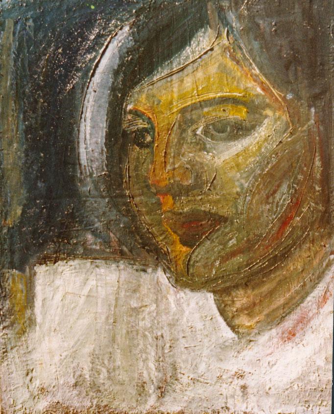 Eva, huile sur toile,  [1979], collection d'atelier