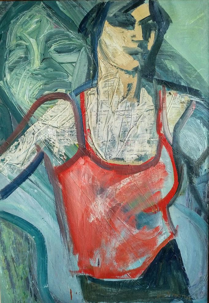 Penelope, 92x65, 1979, huile sur toile