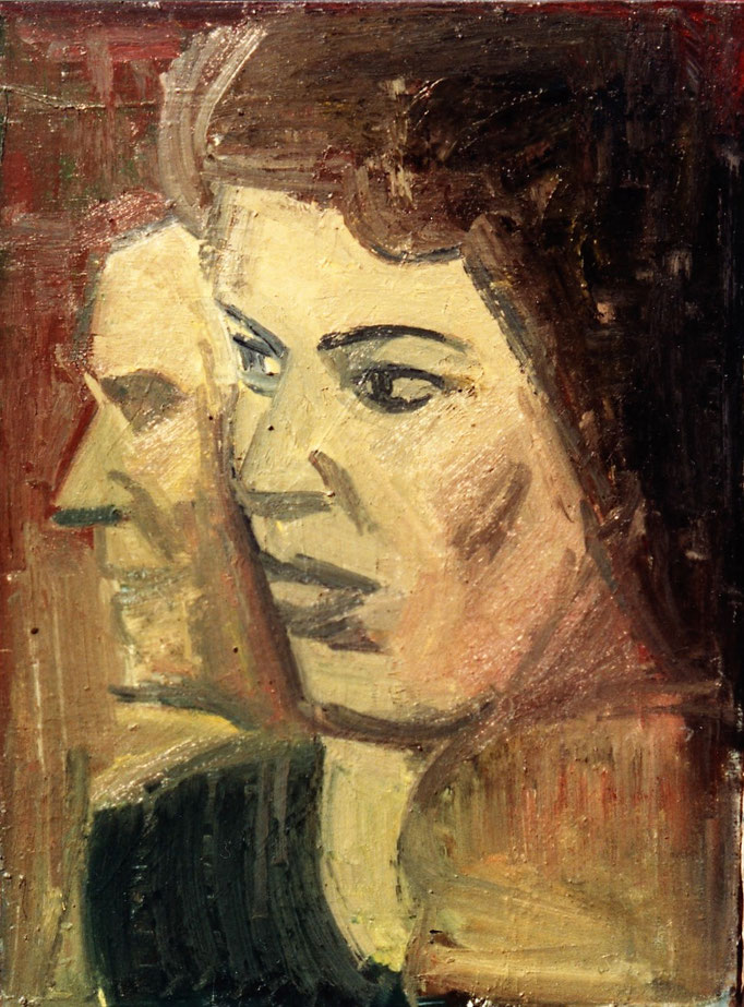 Huile sur toile, [1978]