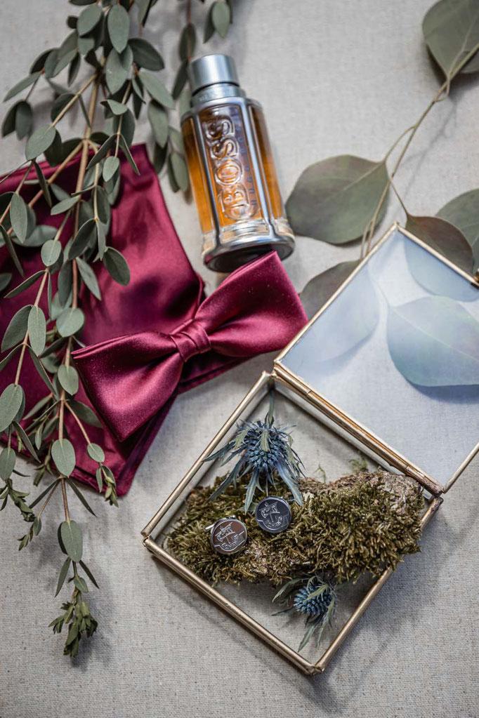 Detailfotografie Hochzeit