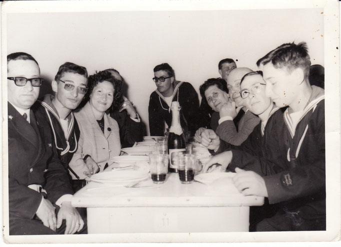 Giuramento - colazione con i familiari - Capo Bevilacqua - Febbraro - Schiavo e ????