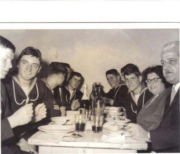Giuramento - Colazione con i familiari - Malfatti e...........