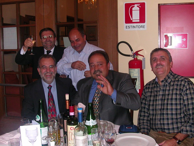 I Sardi (Ximenes, Mulas, Piras, Lai, Garau) a Chianciano