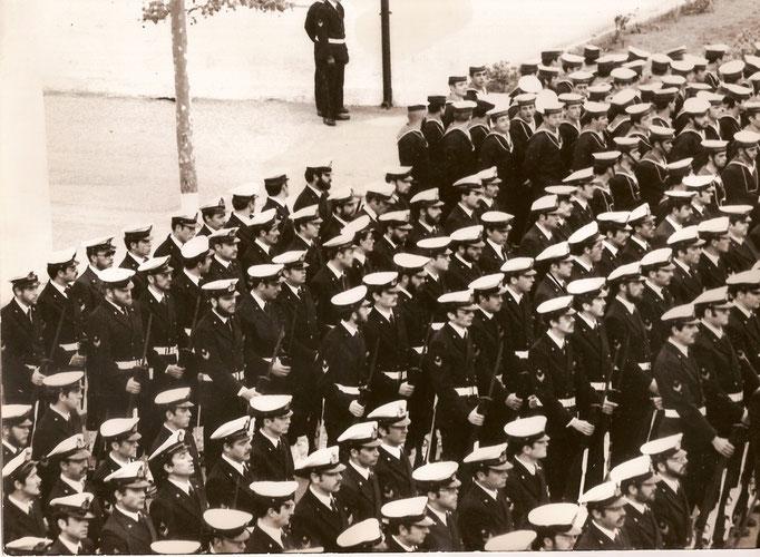 1974/75 - Schieramento Sergenti IGP  Scuola SAL