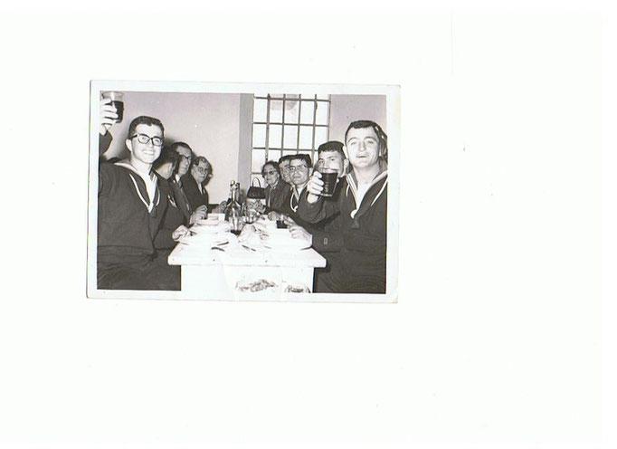 Giuramento - pranzo di corpo: Meazzini, Marsili, Raffo, Rizzo e G.Piras