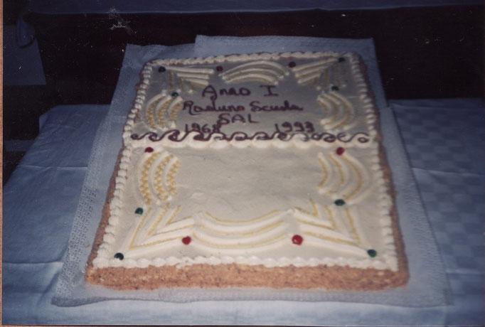 1993 - La Maddalena - Torta per il Venticinquennale