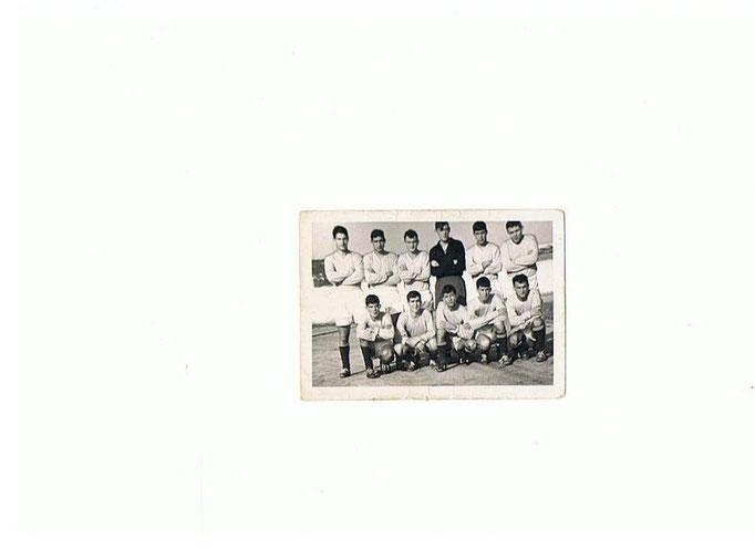 Rappresentativa Calcio Scuola SAL - Longone, Conte, Marsili, Billiani,Tomasi, Milizia,  Murgia, Aprile, ?, Venuti e  Baldari